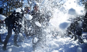Those participating in snowball fights in Wausau, Wisconsin, have risked running afoul of a 1962 ordinance that forbids the launching of projectiles on city property.