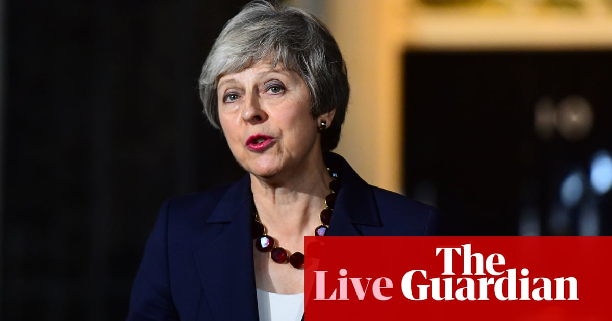 Brexit deal: Theresa May takes agreement to parliament - Politics live