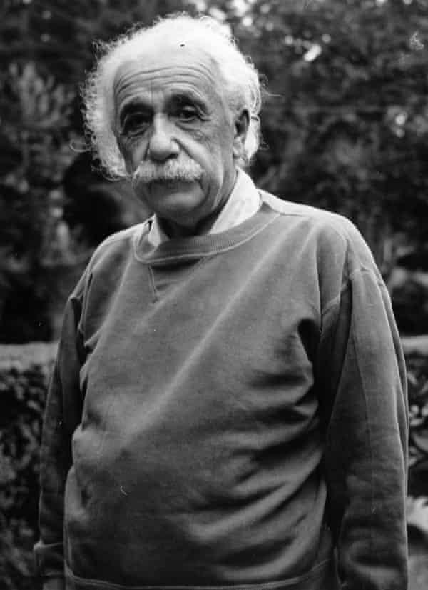 Albert Einstein in the early 1950s by Doreen Spooner.