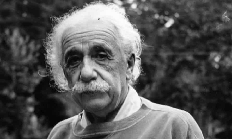 Albert Einstein in 1921.