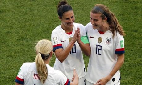 USA aim golf-clap at their celebration critics and show their steel