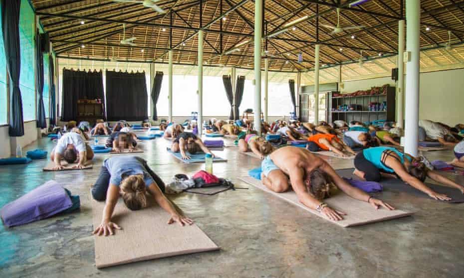 The Agama yoga school in Thailand.
