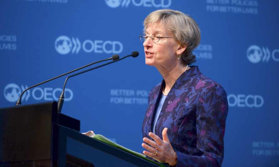 Catherine Mann, a former White House adviser, was the chief economist at the OECD from 2014 to 2017.