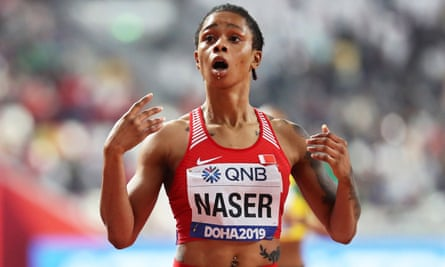 Salwa Eid Naser, the world 400m champion, has escaped a doping ban on a technicality.