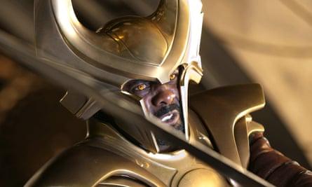 Idris Elba as Heimdall in Thor.