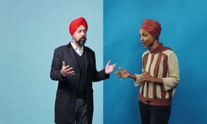 Tan Dhesi, Labour MP for Slough, and Democratic Congresswoman Ilhan Omar