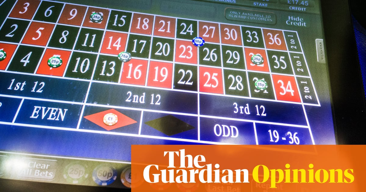 Gambling nearly took my life: betting terminals should have a £2 maximum stake | Matt Zarb-Cousin