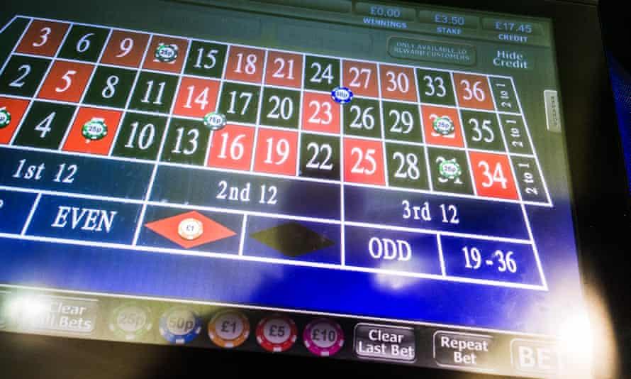 FOBT - roulette game