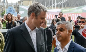 Conservative mayoral candidate Zac Goldsmith (left) and his Labour rival Sadiq Khan.