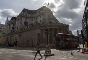 The Bank of England in London last weekend