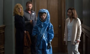 Kelly Reilly, Max Martini, Charlie Shotwell and Lili Taylor in Eli