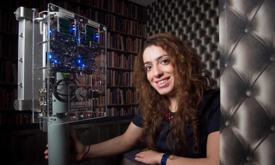 'I think women on engineering are encouraged here' …Rula Arbash.