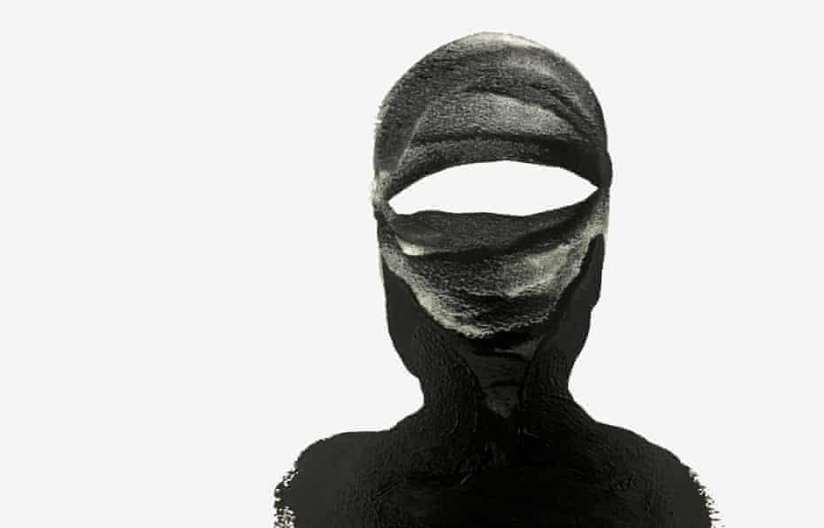 reluctant jihadi illustration painting silhouette
