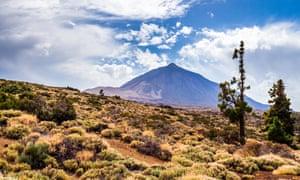 El Teide national park.