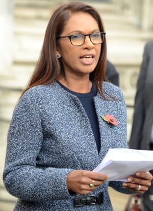 Gina Miller outside the high court in London after her Brexit legal challenge on 3 November 2016.