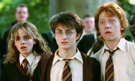 The trio grow up … Hermione, Harry and Ron will appear as adults on stage