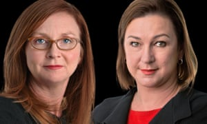 Guardian Australia's Katharine Murphy (left) and Lenore Taylor.