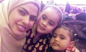 Rania Ibrahim, her children Fathia, 5, and Hania, 3, were among the victims to whom tributes were paid on Wednesday