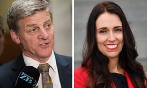 National Party leader and prime minister Bill English takes on opposition Labour party leader Jacinda Ardern in Saturday's election.