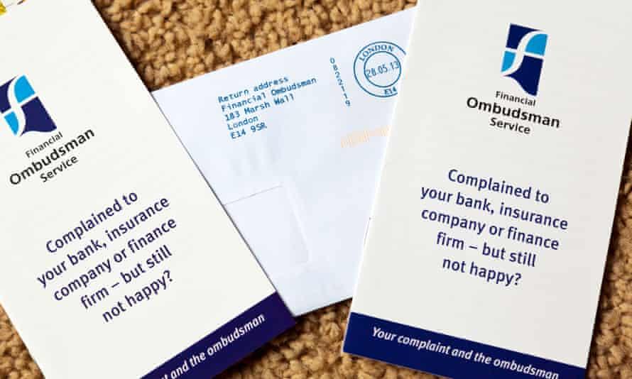 Financial Ombudsman Service  leaflets