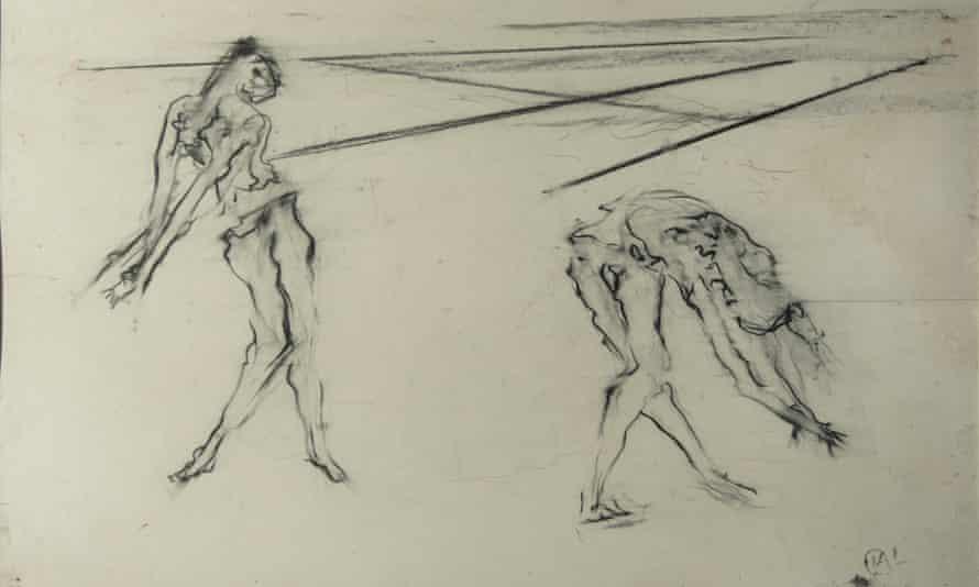 A study of prima ballerina Margot Fonteyn by Isabel Rawsthorne, 1968.