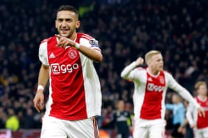 Image result for ziyech vs real madrid
