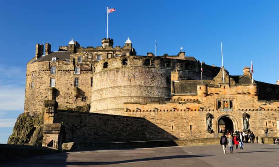 Edinburgh Castle from Castle Esplanade
