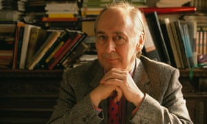 JG Ballard at home in March 1989