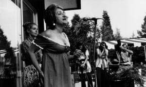 Betty Friedan in 1970.