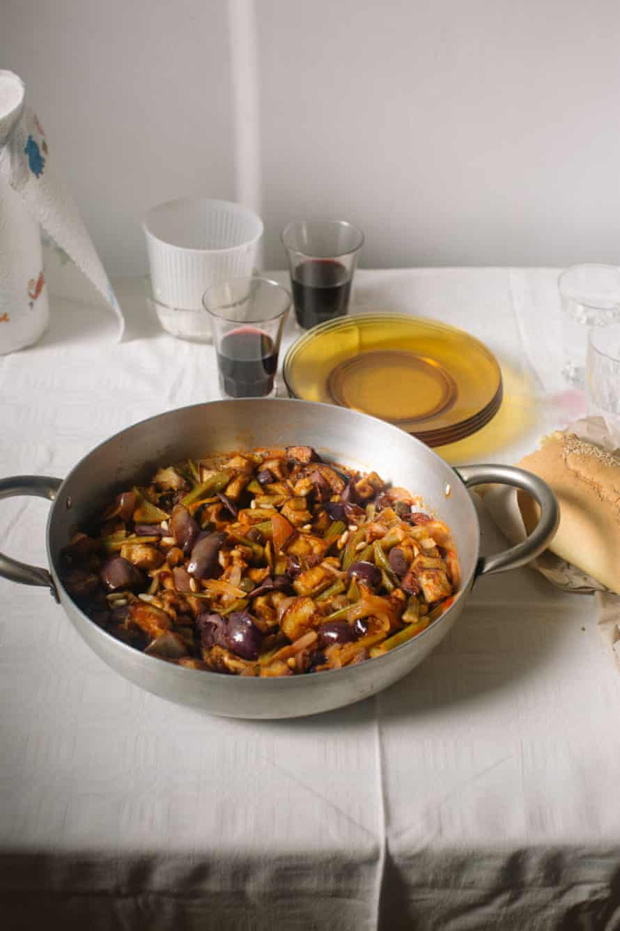 'Caponata has an affinity with roast meat, particularly lamb.'