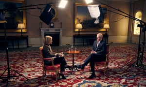 The BBC's Emily Maitlis interviews Prince Andrew about his relationship with Jeffrey Epstein