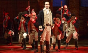 New Yorkers have been paying up to £700 to see Hamilton on Broadway.