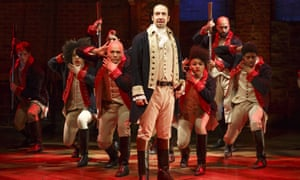 the hip-hop musical Hamilton
