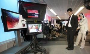 A BBC Persian Service presenter in 2009