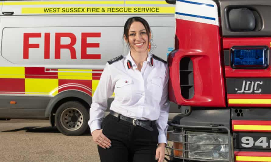 West Sussex chief fire officer Sabrina Cohen-Hatton: 'I still miss going to fires. It becomes part of your identity.'