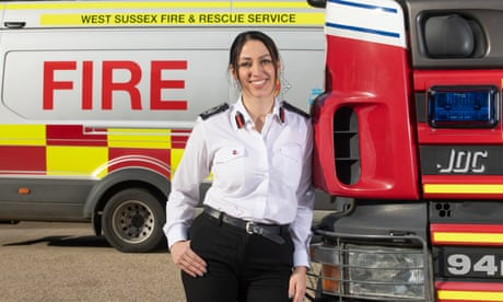 Fire chief Sabrina Cohen-Hatton: 'I wanted to rescue people in a way that no one had rescued me'