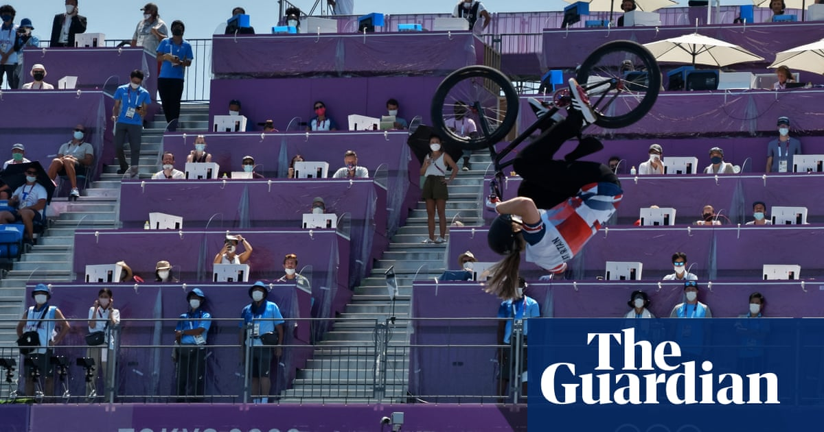 Olympic BMX gold medallist's mum says victory down to toddler trampolining