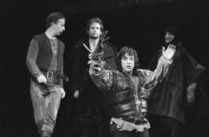 Al Pacino as Richard III, 1979