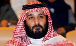 The Saudi crown prince, Mohammed bin Salman.