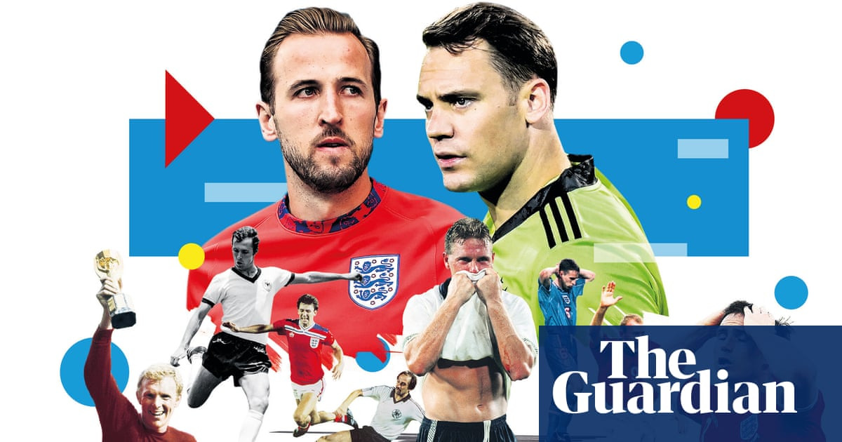 England sense their moment to shake off weight of history against Germany