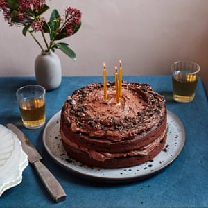 Peachy How To Cook The Perfect Chocolate Cake Food The Guardian Funny Birthday Cards Online Overcheapnameinfo