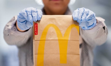 McDonald's is back! Baby steps – give or take some Perspex screens – towards a type of normality