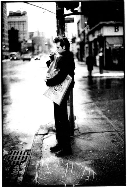 'Just a quiet day' … guitarist Mick Jones in New York, 1979.