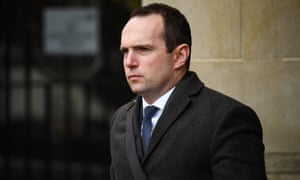 Pathologist John Williams leaving Glasgow high court on Thursday