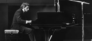 Loussier at the piano.