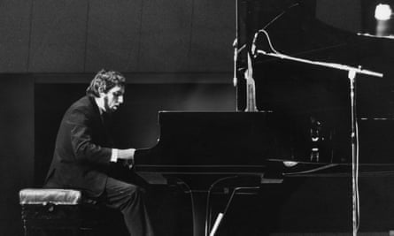 Jacques Loussier performing in the early 1970s.