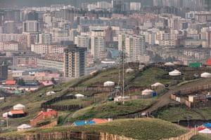 Ulaanbaatar, the capital of Mongolia
