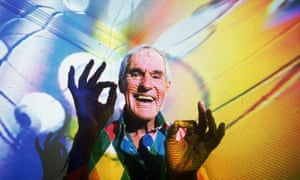 Timothy Leary in 1992: 'would have been more help piping down than turning on'