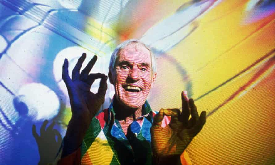Timothy Leary in Beverly Hills in 1992.