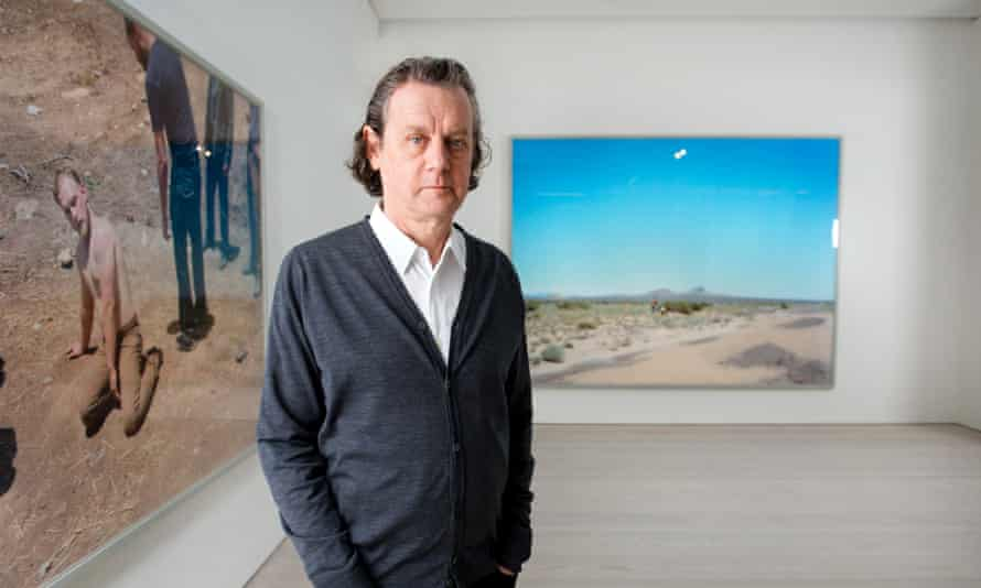 Photographer Jeff Wall at the Marian Goodman Gallery in London. Photo by Linda Nylind. 30/10/2015.